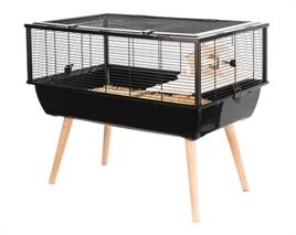 Hamsterkooi Nigha zwart