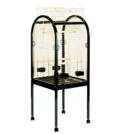 Papegaaienkooi Junior zwart/goud