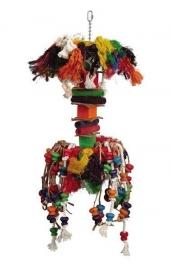 Vogelspeelgoed 178 (papegaai/grote parkiet)