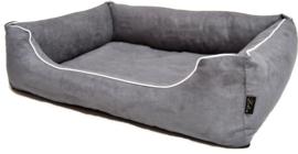 Hondenmand Lea 01 grijs 80x60cm