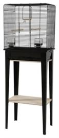 Vogelkooi CHIC LOFT 1 met meubel zwart