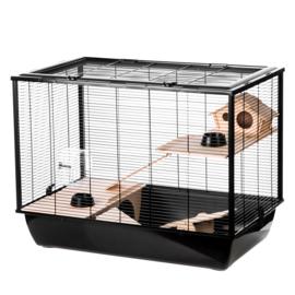 Hamsterkooi / rattenkooi Hammer zwart