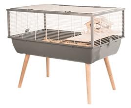 Hamsterkooi Nigha grijs