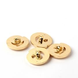 Goudkleurige knoop