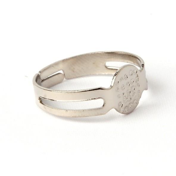 Verstelbare ring ZILVER of GOUD