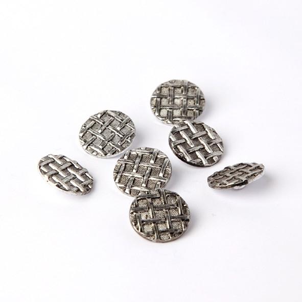 Zilverkleurige knopen