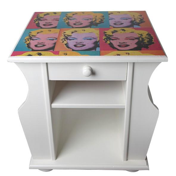 Marilyn Monroe kastje - Made By Sue - Bijzonder Kastje - GESPOT050