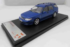 Saab 9-5 blauw Estate Premium X