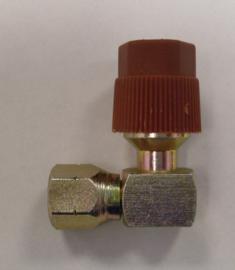 Vulnippel airco systeem hoge druk 3/8 schroefdraad 1980-1993