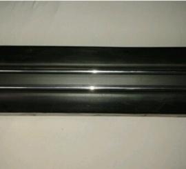 Sierstrip bumper met dubbele chroomlijst 1977 - 1980