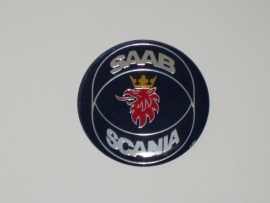 Saab embleem op motorkap