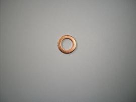 Koperen ring 3/8 inch t.b.v. remslang of wartel