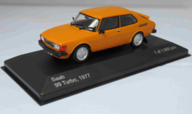 Saab 99 Turbo oranje Whitebox