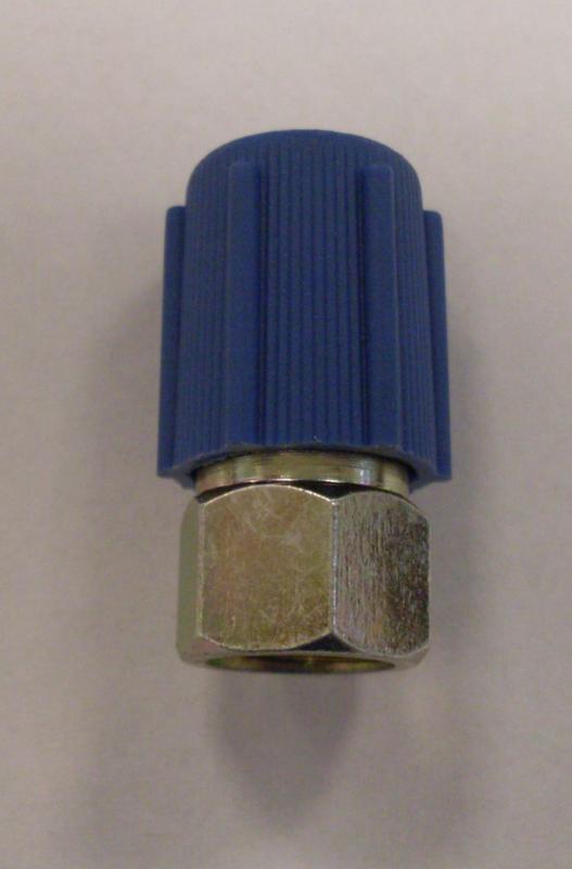 Vulnippel airco systeem lage druk 7/16 schroefdraad 1980-1993