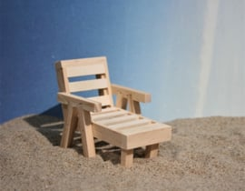 Beach chair 12 cm