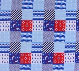 stof patchwork maritime