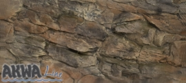 Rock Acterwand 100x60