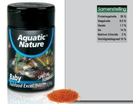 Aquatic Nature Baby Fishfood 124ml