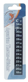 PLAK THERMOMETER 18-32 C.