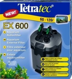 Tetratec® EX 600  voor aquaria tot 120l