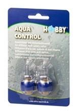 2 Aquacontrol luchtuitstromers met ingebouwd ventiel(tip)