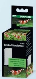 1* Vervang element dennerle Nano Hoekfilter