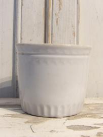 Oude confiture pot