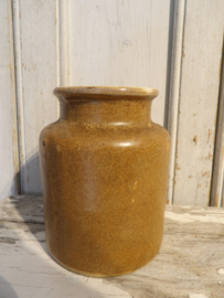 Grès/moutarde pot