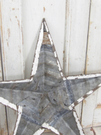 Amish ster wit / dia 45 cm