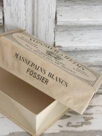 Oud kartonnen Frans doosje