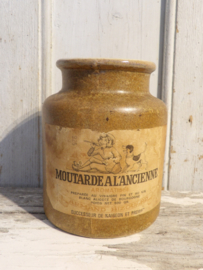 Grès/moutarde pot