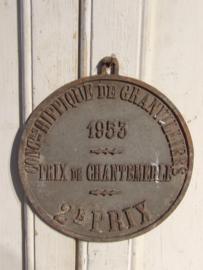 Prijs plaque