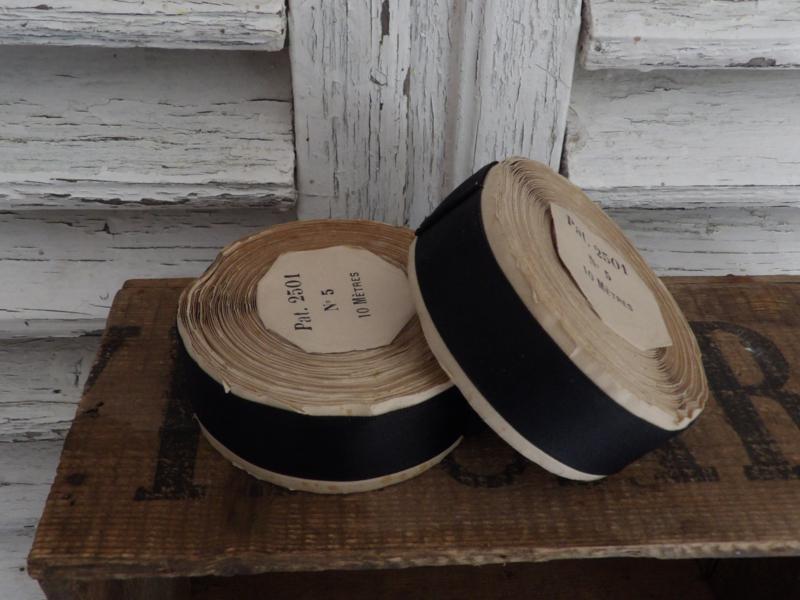 Oude Franse rol hoeden band