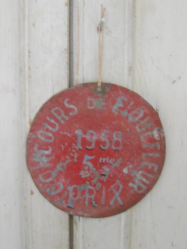 Oude Franse prijzen medaille
