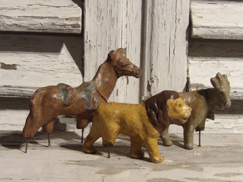 3 hele oude dieren