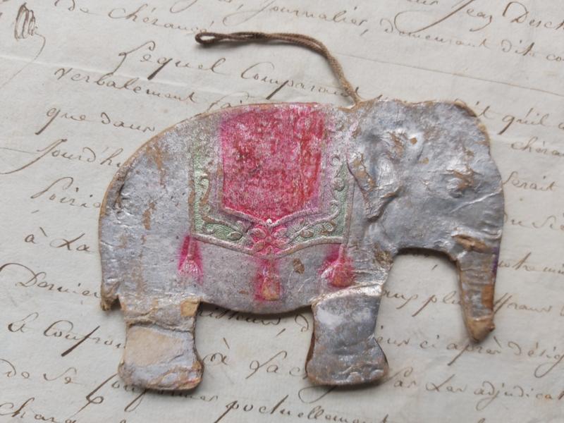 Dresdner pappe olifant