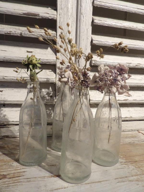 Oude limonade flesjes