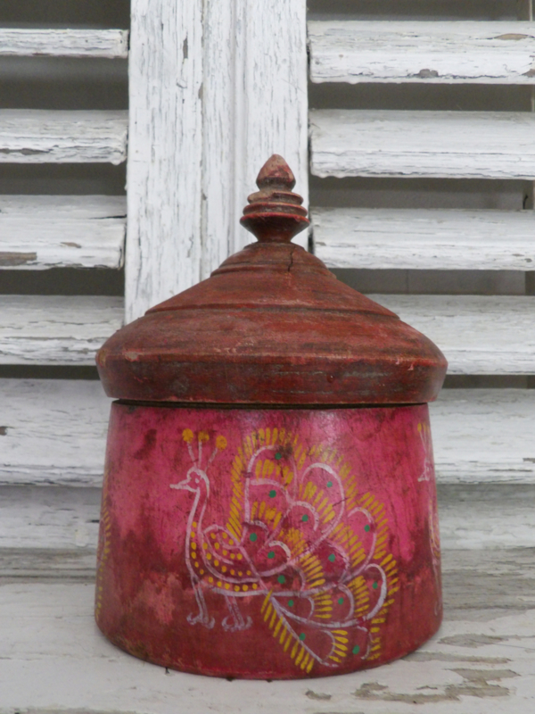 Oude tabaks pot