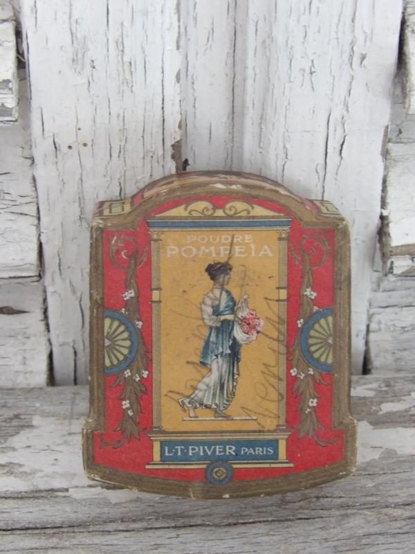 Antieke Franse poederdoos b.