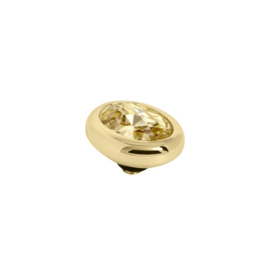 Twisted oval Golden Shadow | Rvs, Geel Goud, Rose Goud ( TM57 en 58)