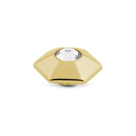 Vivid Honey Crystal | Rvs, Geel goud, Rose goud