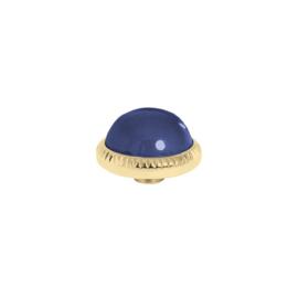 Vivid cz Navy Blue| Rvs, Geel Goud, Rose Goud (VM18)