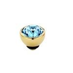Twisted Aquamarine   Rvs, Geel Goud, Roze Goud ( M01SR 5011/5012)