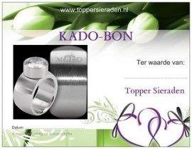 KADO - BON voor de gehele webwinkel | 5 euro