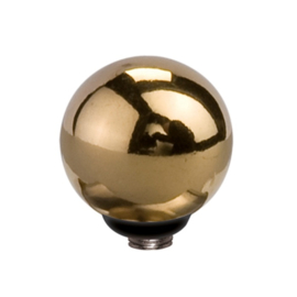 Twisted Ball | Rvs, Geel Goud, Roze Goud, Black (M01SR 5015/5016)