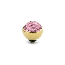 Twisted Shiny rose  | Rvs, Geel goud, Rose goud (TM74)
