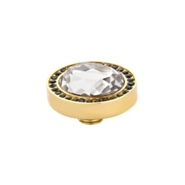 Vivid - Facet Crystal | Rvs, Geel Goud, Roze Goud (M01SR 9052)