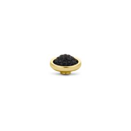 Vivid Shiny Jet Black | Rvs, Geel goud, Rose goud
