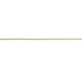 FR Flat Wheatketting | Rvs, Geel goud, Rose goud ( FN11)