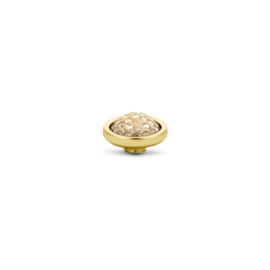 Vivid Shiny Smoked Topaz | Rvs, Geel goud, Rose goud